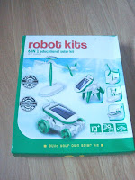 6 on 1 solar robot kit