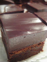 Orange Truffle Brown Squares