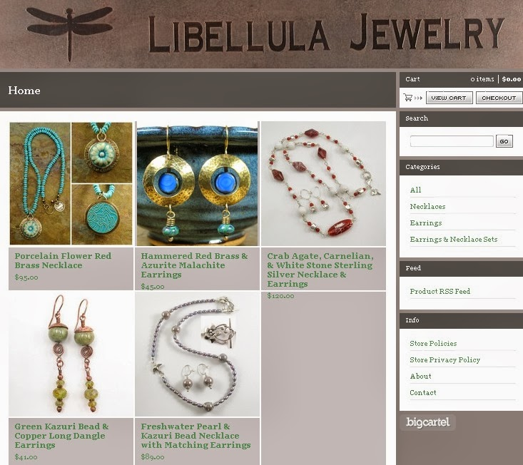 Libellula Jewelry on Big Cartel