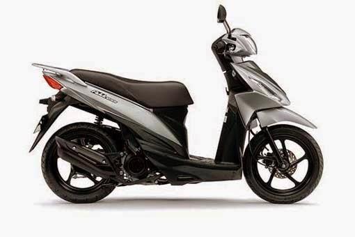 Suzuki Adress Metallic Ice Silver