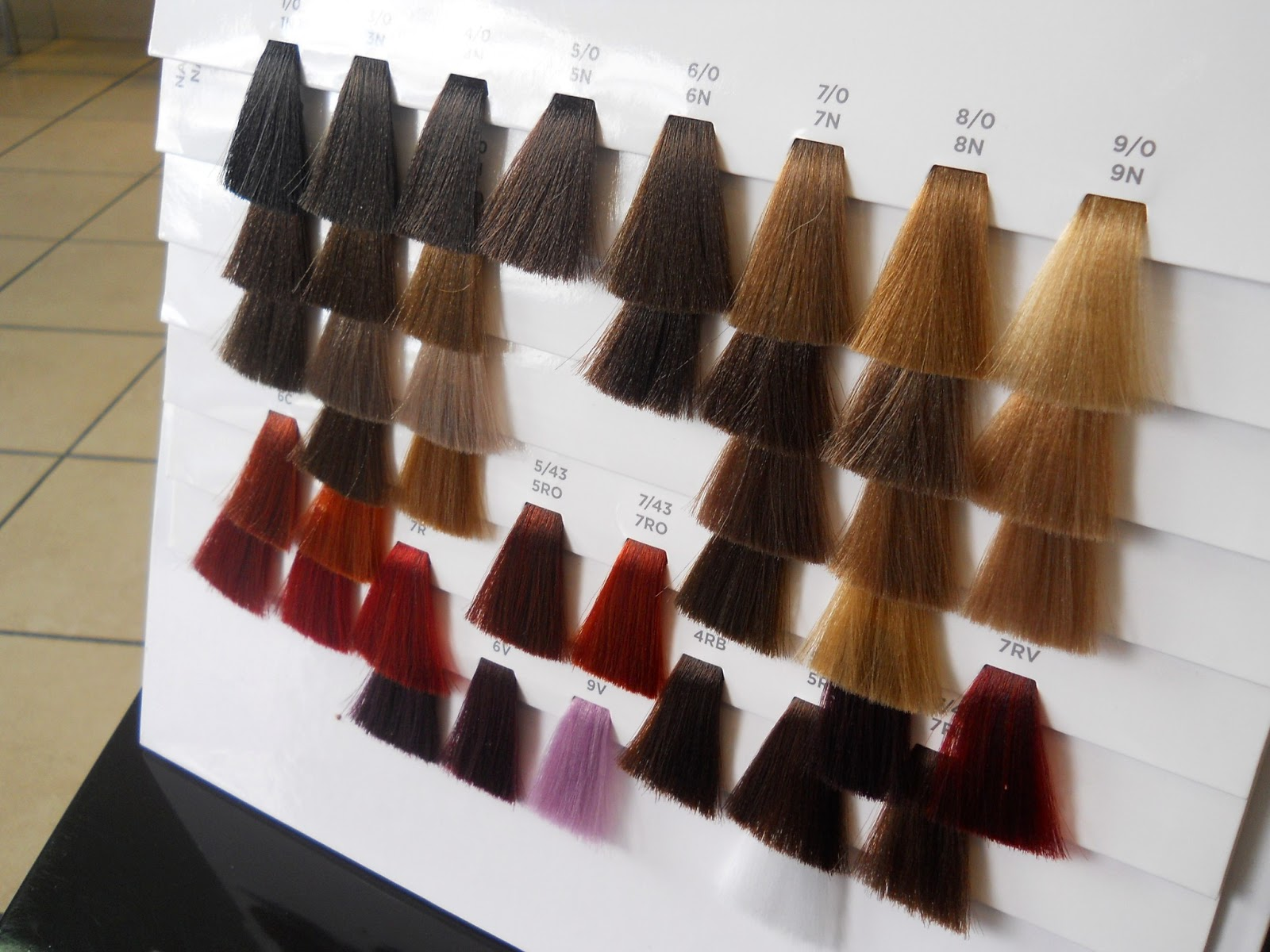 Pm Shines Hair Color Chart Rebellions