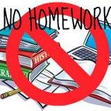 National no homework day