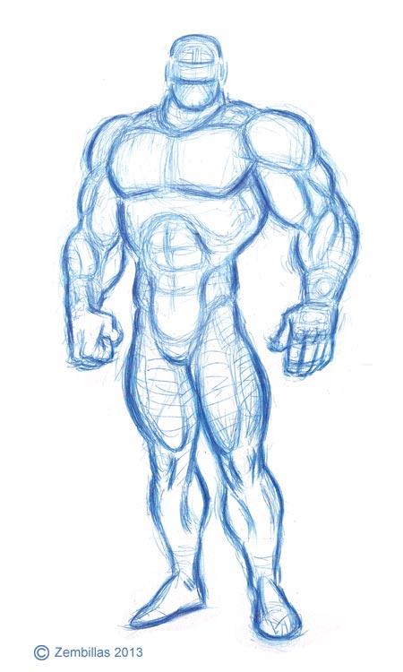 leg muscles drawing - photo #40