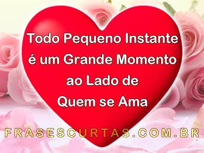 Frases Lindas De Amor Mensagens Românticas Com Imagens Frases Curtas