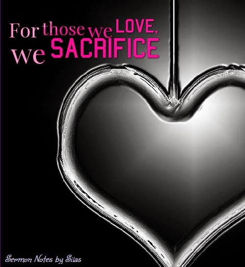 Only Sacrifice Makes Love Meaningful
