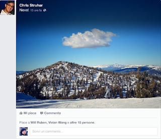social network facebook news feed