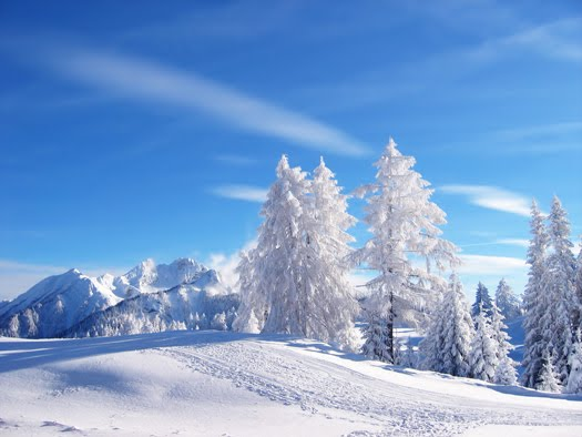 Znalezione obrazy dla zapytania zima krajobrazy