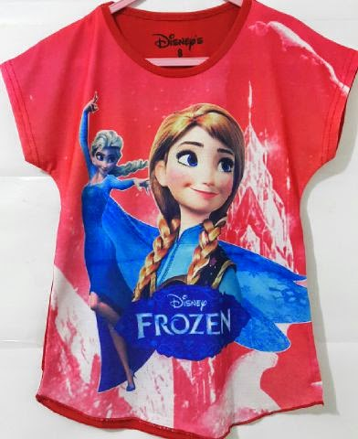grosir kaos batwing paper printing frozen toko patria