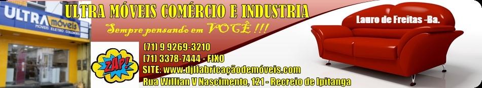 D J L - FABRICAÇÃO & COMERCIO DE MÓVEIS LTDA
