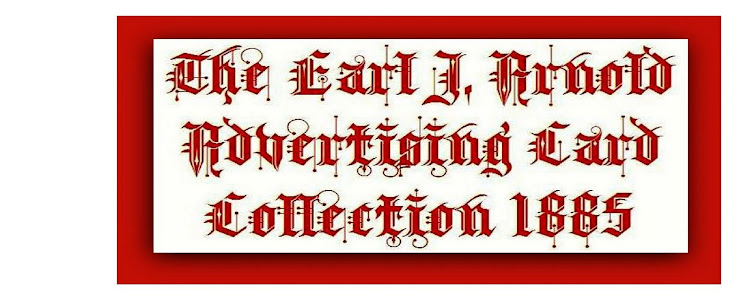 The Earl J. Arnold Advertising Card Collection 1885