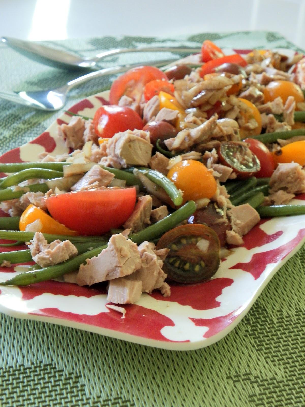 Cocina que te cocina fresca y r pida ensalada de at n for Ensalada francesa