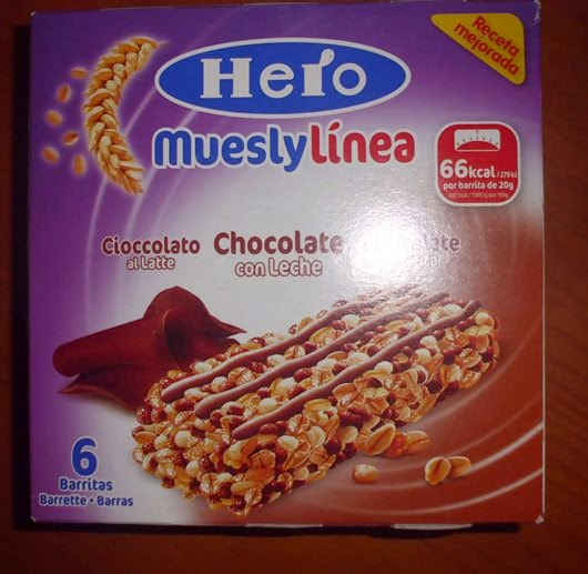 hero muesly linea