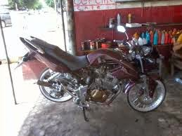 Modifikasi Honda Tiger Ceper