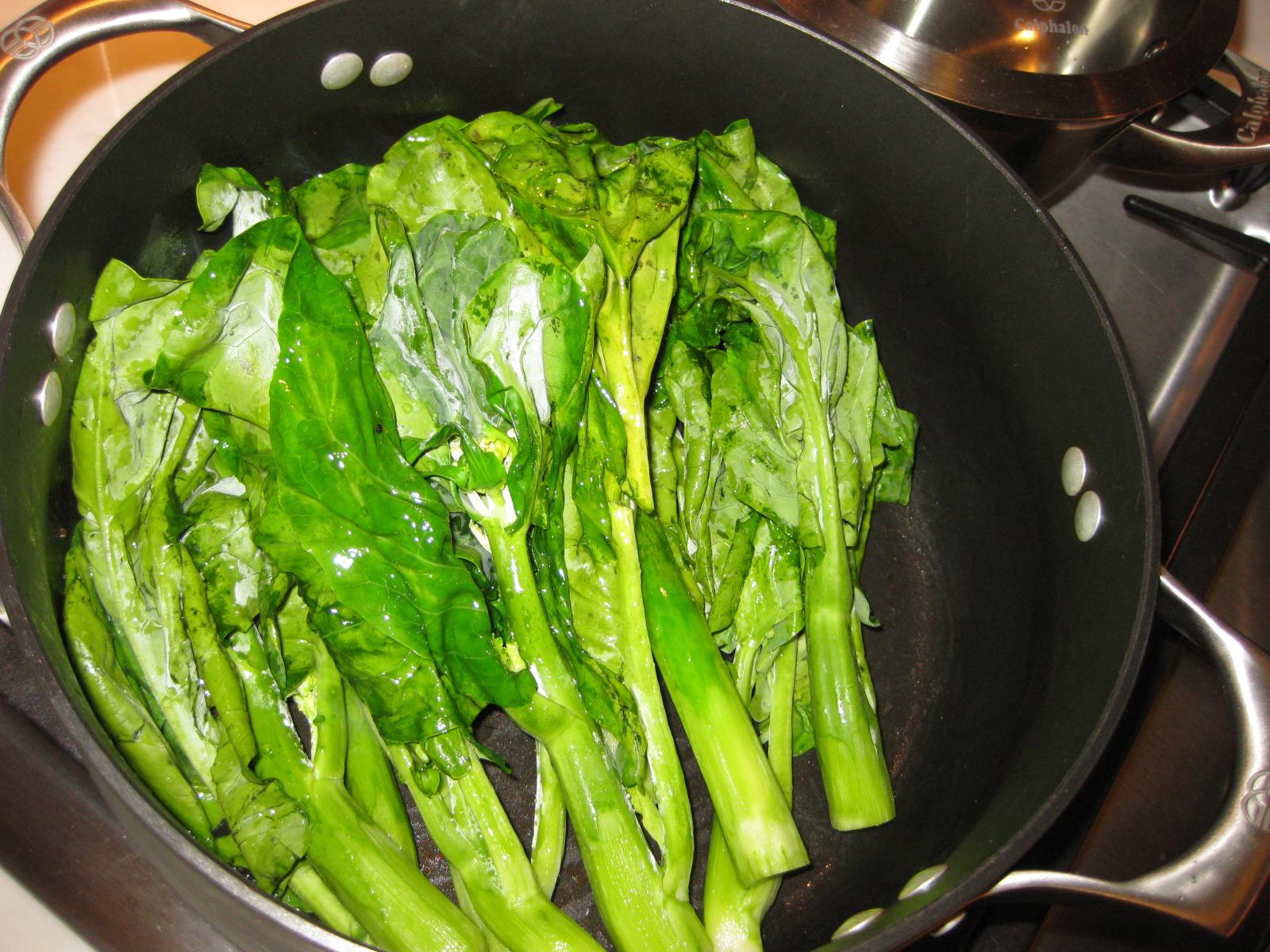 how to prepare gai lan