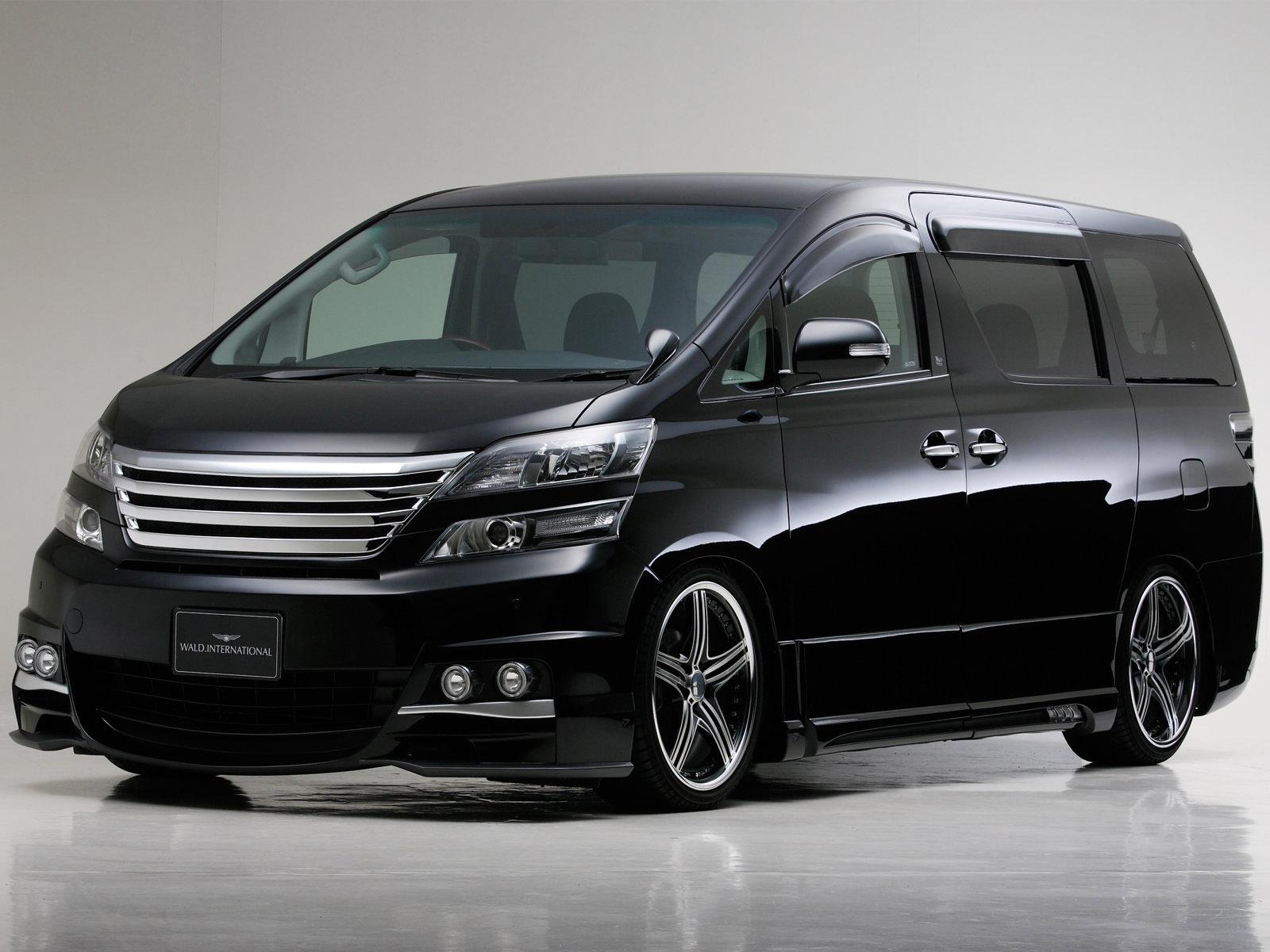 New Cars Toyota Vellfire The Power Luxury Cars