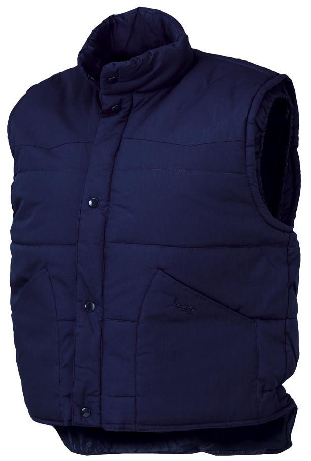 Ampliar Imagen : Chaleco Driver Azul Starter - Vestuario Laboral contra el frío