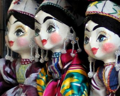 bukhara arts crafts, uzbekistan holidays 2014, uzbek puppets
