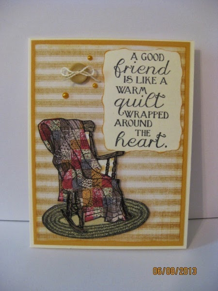 ODBD Sew Special, Rocking Chair Die, Sewn With Love, Card Designer PinkLady