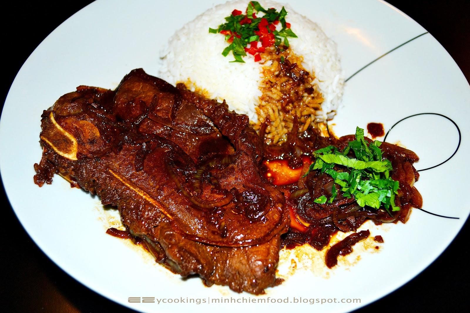 Easy Cooking: Filipino T-bone Steak