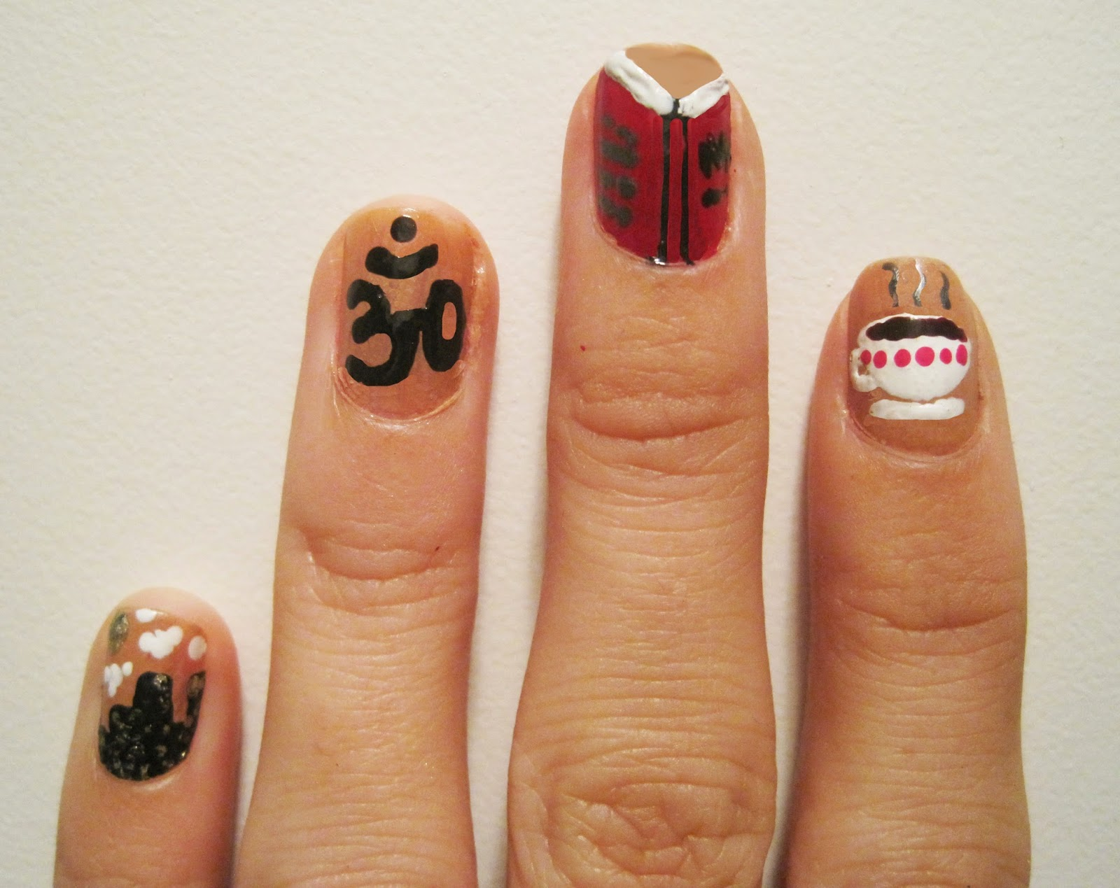 A Few Of My Favourite Things With Nail Style Studio Art From Klutz