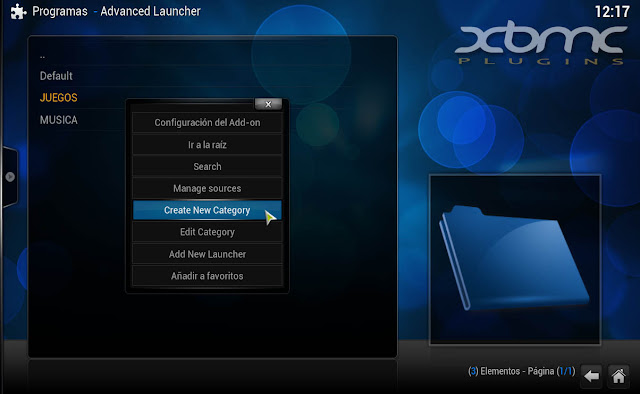 ADVANCED LAUNCHER CONFIGURATION
