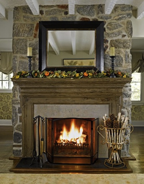 Cheeky Chic The Age Old Decorating Question Fireplace