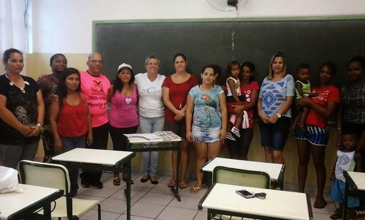 Ong DCM dá palestra em Praia Grande