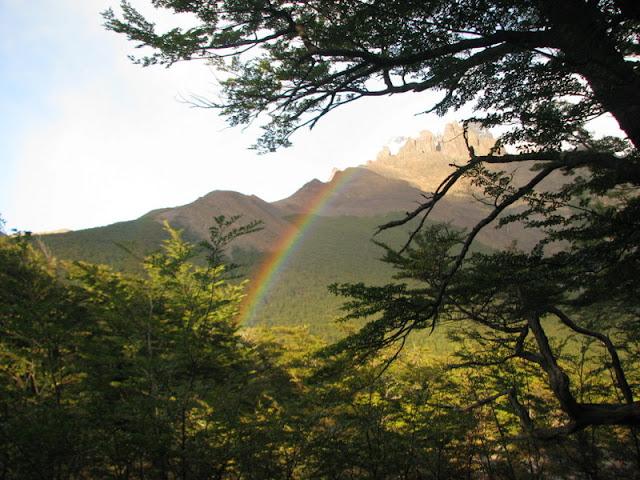 rainbow camping el chalten