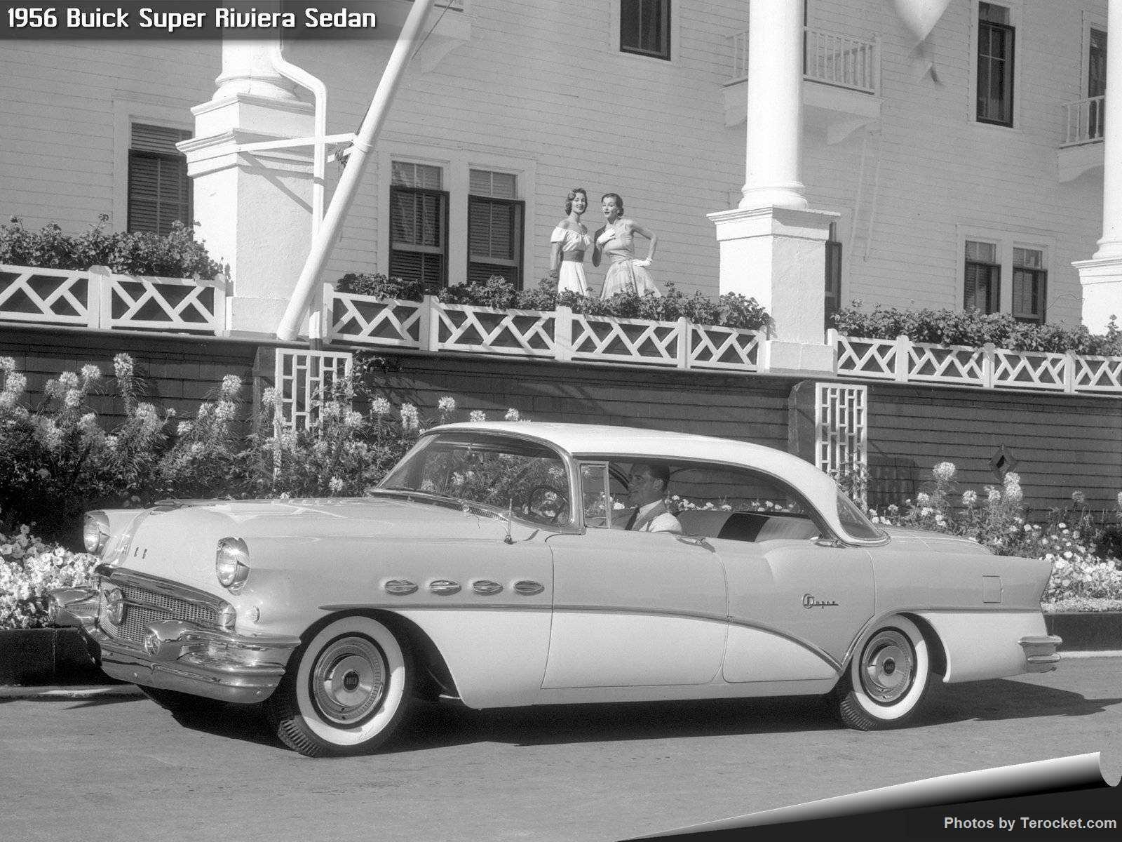 Hình ảnh xe ô tô Buick Super Riviera Sedan 1956 & nội ngoại thất