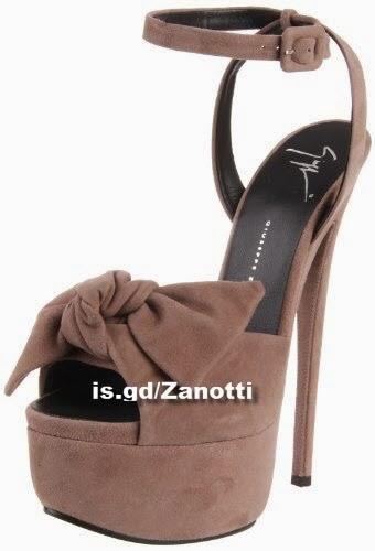 Giuseppe Zanotti Women's High Platform Bow Sandal
