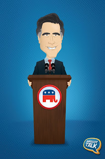 Mitt Romney Illustration Danny Moore Illustrator