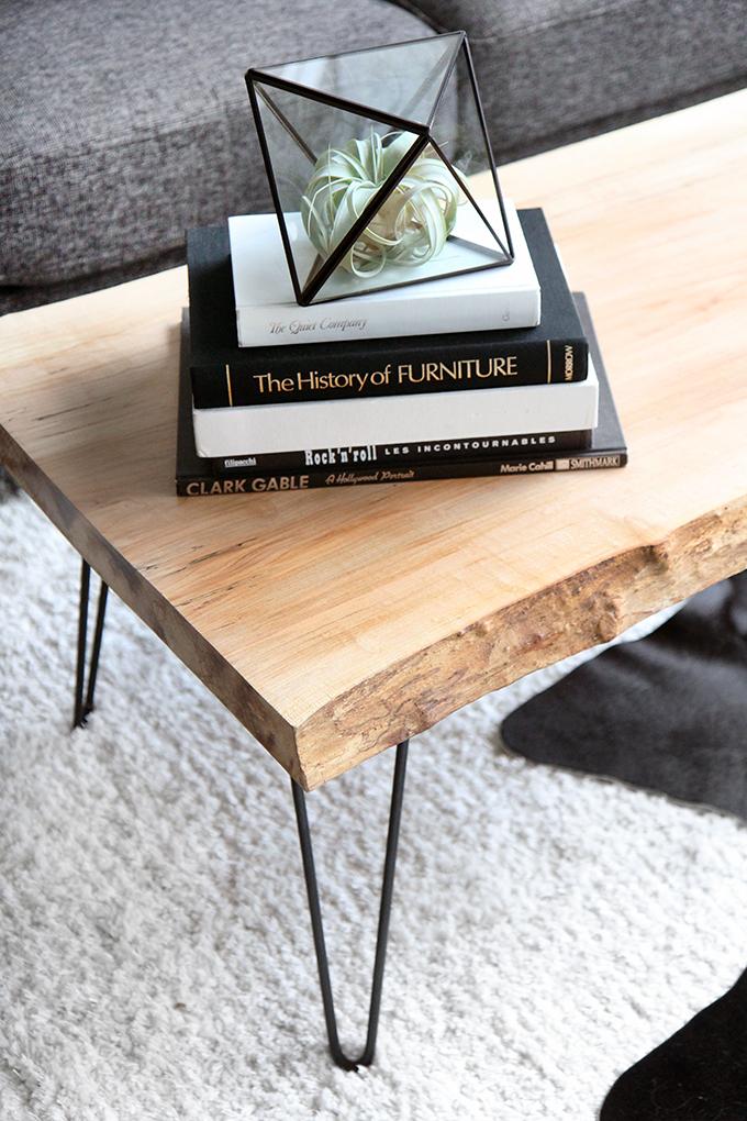 Boho deco chic diy como hacerte una mesa de centro de for Como hacer una mesa estilo industrial