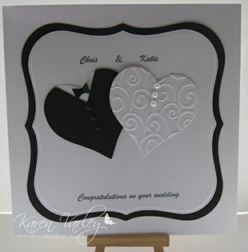 Donemark Crafts Wedding Card