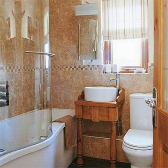 Bathroom ideas abstracttheday very small bathroom designs for Small bathroom layout with tub