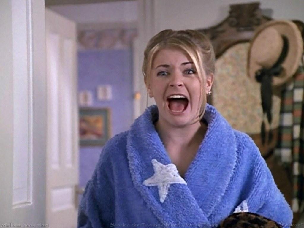 The Last Reel: Sabrina Teen Witch Reboots As Superhero Sabrina The Teenage Witch