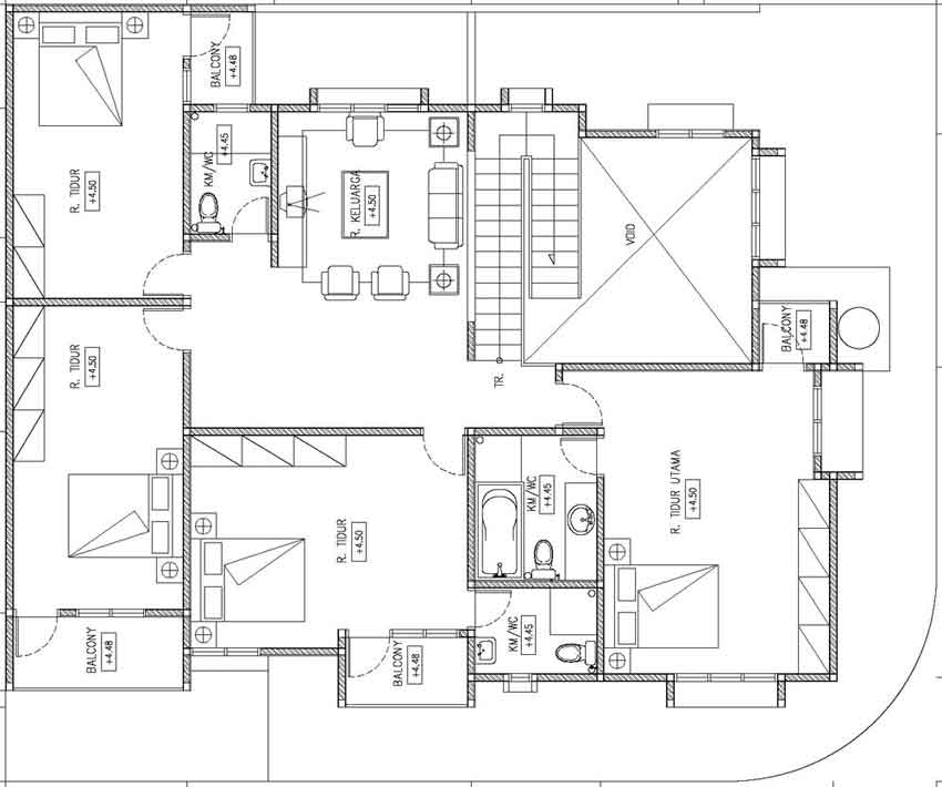 Inilah inspirasi Desain Rumah Minimalis 2 Lantai Type 90 yg perfect