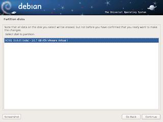 Langkah-langkah Menginstal Linux Debian 6 Berbasis GUI