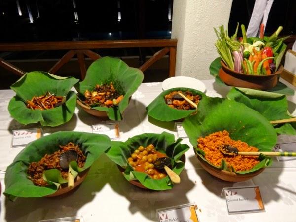Beautiful presentations at Cinnamon Chaaya Village Habarana