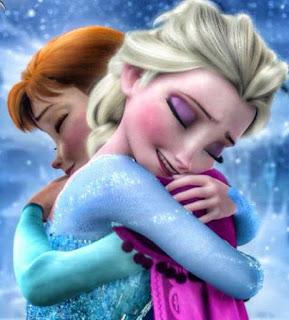 Gambar Elsa dan Anna Frozen wallpaper 12