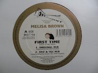 Melisa Brown - First Time (VLS) (1998)