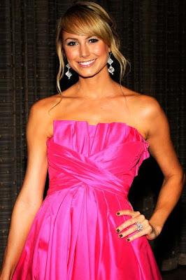 Stacy Keibler Dangling Crystal Earrings