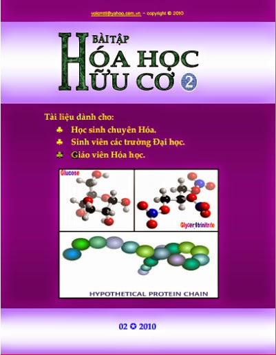 Bài tập hóa học hữu cơ tập 2