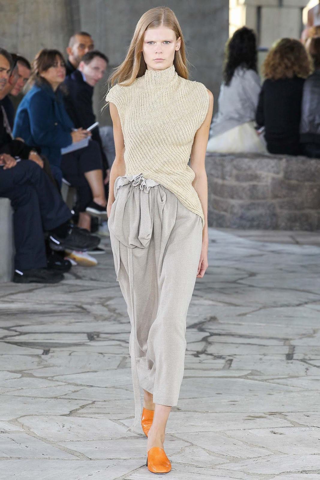 J W Anderson for Loewe Spring/Summer 2015 PFW Paris fashion week SS 15 September 2014 ready to wear collections