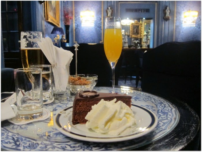 Sachertorte at Hotel Sacher Vienna Austria