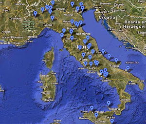 Map Of Italy!  - With The Saints