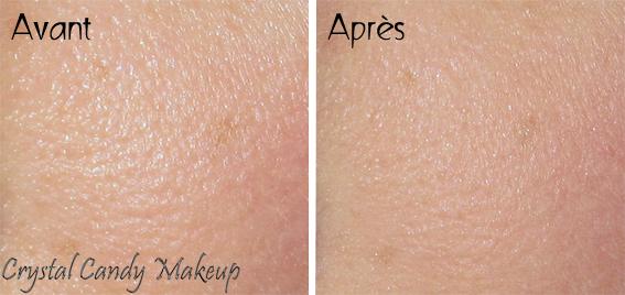 Poudre de finition Bye Bye Pores de It Cosmetics - Review - Avant après