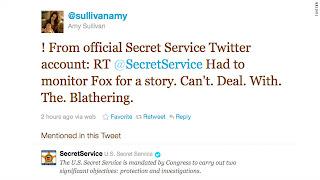 secret service twitter