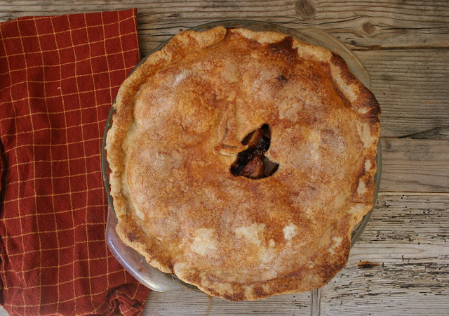 Pear & Cardamom-Fig Pie