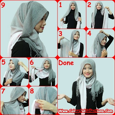 Tutorial dari http://colourfulcollections.com