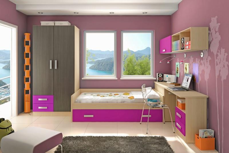 colores de dormitorios juveniles lagrama color malva en muebles